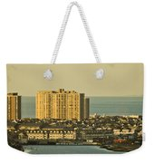 Sunny Day In Atlantic City Weekender Tote Bag by Trish Tritz
