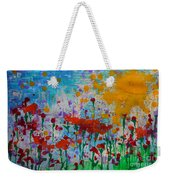 Sunny Day Weekender Tote Bag by Jacqueline Athmann
