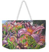 Sunny Daylilly Weekender Tote Bag