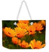 Sunny Floral Weekender Tote Bag