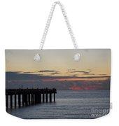 Sunny Isles Fishing Pier Sunrise Weekender Tote Bag