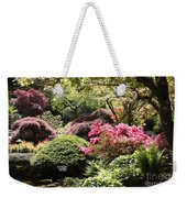 Sunny Japanese Garden Weekender Tote Bag