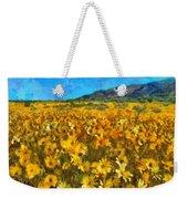 Sunny Meadow Weekender Tote Bag