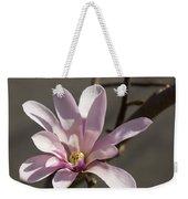 Sunny Pink Magnolia Blossom Weekender Tote Bag