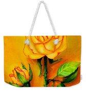 Sunny Rose Weekender Tote Bag