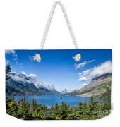 Sunny Saint Mary Lake Weekender Tote Bag