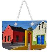Sunny Side Weekender Tote Bag