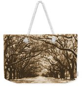 Sunny Southern Day With Old World Framing Weekender Tote Bag