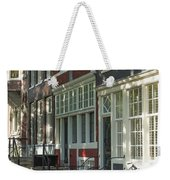 Sunny Street In Amsterdam Weekender Tote Bag