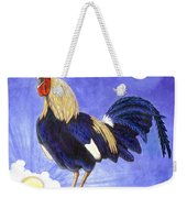 Sunny The Rooster Weekender Tote Bag