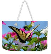 Sunny Tiger Swallowtail  Weekender Tote Bag
