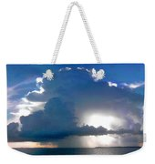 Sunny Waterfall Over The Bay Filtered Weekender Tote Bag