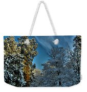 Sunny Winter Day Weekender Tote Bag
