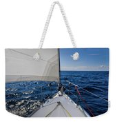 Sunny Yacht Bow Weekender Tote Bag