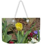 Sunny Yellow Tulips Series  Picture C Weekender Tote Bag