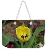Sunny Yellow Tulips Series  Picture D Weekender Tote Bag