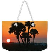 Sunrise And Group Of Palm Trees Weekender Tote Bag