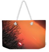 Sunrise And Hibernating Tree Weekender Tote Bag