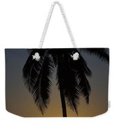 Sunrise And Palm Tree Weekender Tote Bag