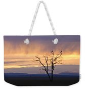 Sunrise And Rain Weekender Tote Bag