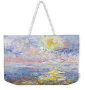 Sunrise As The Fog Blew In Weekender Tote Bag