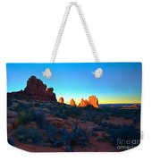 Sunrise At Arches National Park Weekender Tote Bag