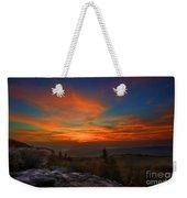 Sunrise At Bear Rocks In Dolly Sods Weekender Tote Bag by Dan Friend