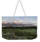 Sunrise At Grand Teton Weekender Tote Bag