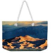 Sunrise At Great Sand Dunes Weekender Tote Bag