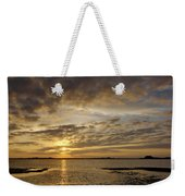 Sunrise At Low Tide - Sleepy Cove Weekender Tote Bag