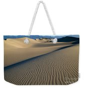 Sunrise At Mesquite Flat Sand Dunes Weekender Tote Bag