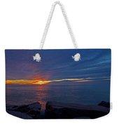 Sunrise At Otter Cliffs Weekender Tote Bag