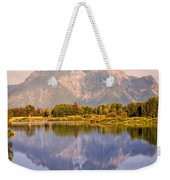 Sunrise At Oxbow Bend 2 Weekender Tote Bag by Marty Koch