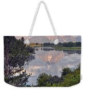 Sunrise At Oxbow Bend 3 Weekender Tote Bag by Marty Koch