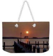 Sunrise At Piney Point Maryland Weekender Tote Bag