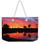 Sunrise At Polly's Weekender Tote Bag