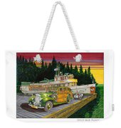 Port Madison Sunrise Weekender Tote Bag