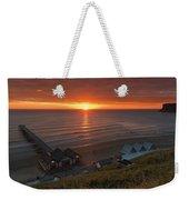 Sunrise At Saltburn Weekender Tote Bag