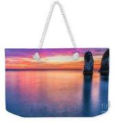 Summer Sunrise Selwick Bay Flamborough Weekender Tote Bag