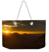 Sunrise At The Canyon Weekender Tote Bag