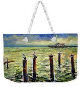 Sunrise At The Inlet By Julianne Felton 2-24-14 Weekender Tote Bag