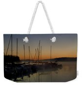 Sunrise At The Marina - Lake Nockamixon State Park Weekender Tote Bag