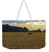 Sunrise At The Wheat Field Weekender Tote Bag