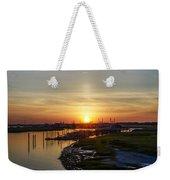 Sunrise At Two Mile Inlet - Wildwood Crest Weekender Tote Bag