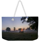 Sunrise At Whitemarsh Weekender Tote Bag