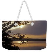 Sunrise At Yellowstone Lake Weekender Tote Bag