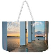 Sunrise Boardwalk Weekender Tote Bag