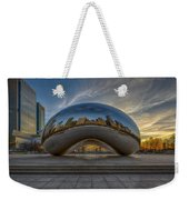 Sunrise Cloud Gate Weekender Tote Bag