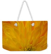 Sunrise Dahlia Abstract Weekender Tote Bag