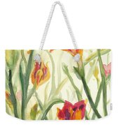Sunrise Flowers Weekender Tote Bag